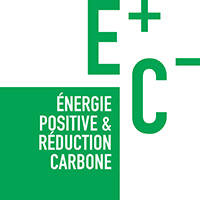 Logotype energie positive et reconductioncarbone