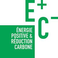 Logotype energie positive et reconductioncarbone