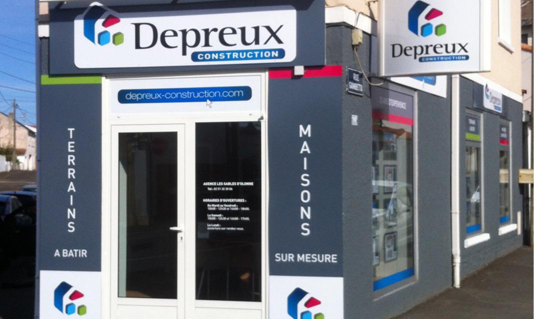 Agence Depreux Construction Les Sables-d'Olonne 85