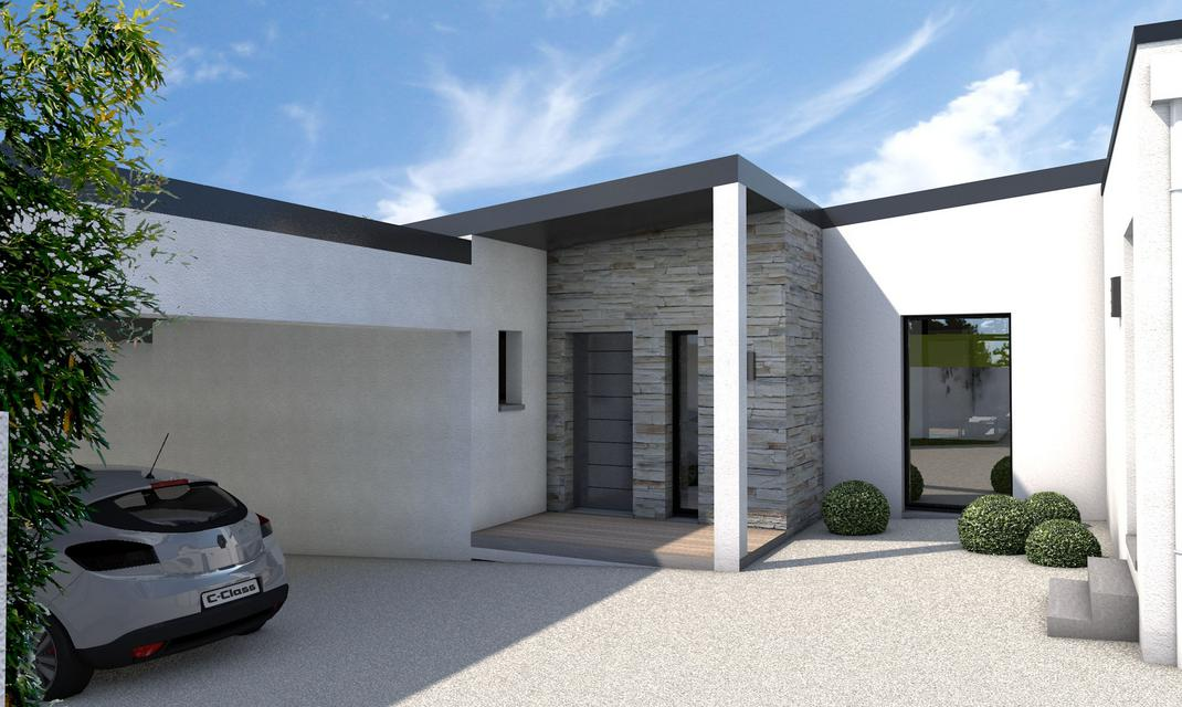 Maison contemporaine plain pied 28 images plan maison for Plan de maison contemporaine plain pied
