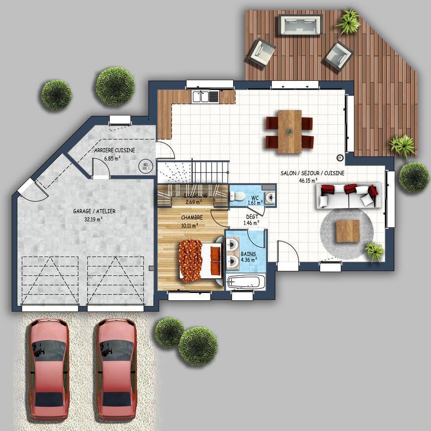 les concepteurs de depreux construction sont votre service pour laborer les plans uniques de votre maison sur mesure - Metier Pour Construire Une Maison