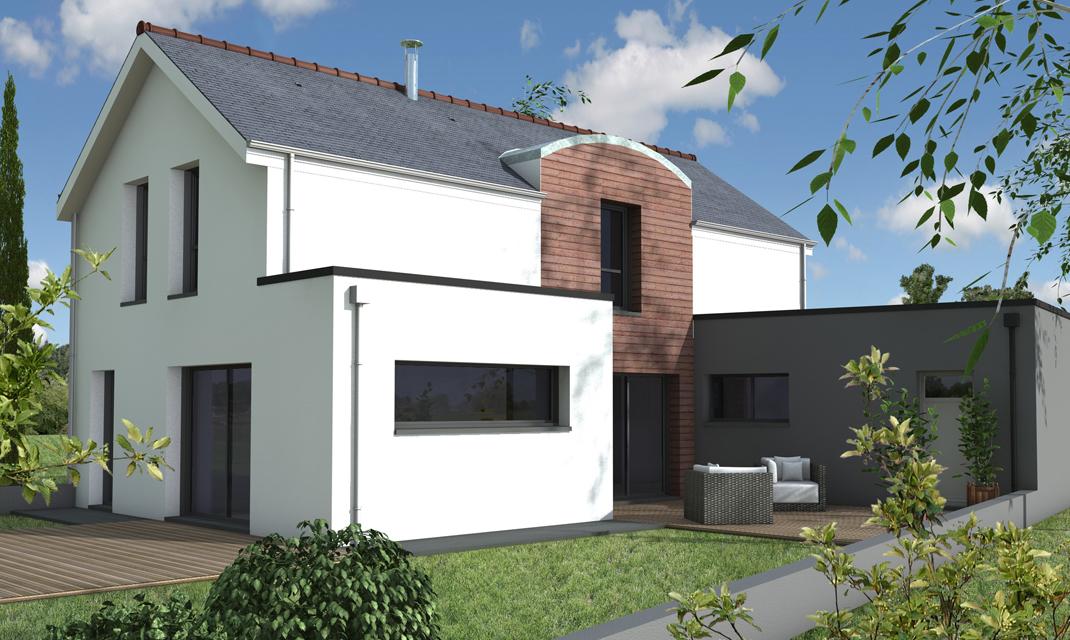 Maison contemporaine sur-mesure 44, 56, 85 - Depreux Construction