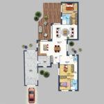 plan maison 2D 3D