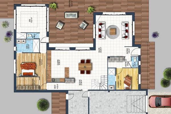 Plan De Maison Neuve Comment Les Elaborer Depreux Construction