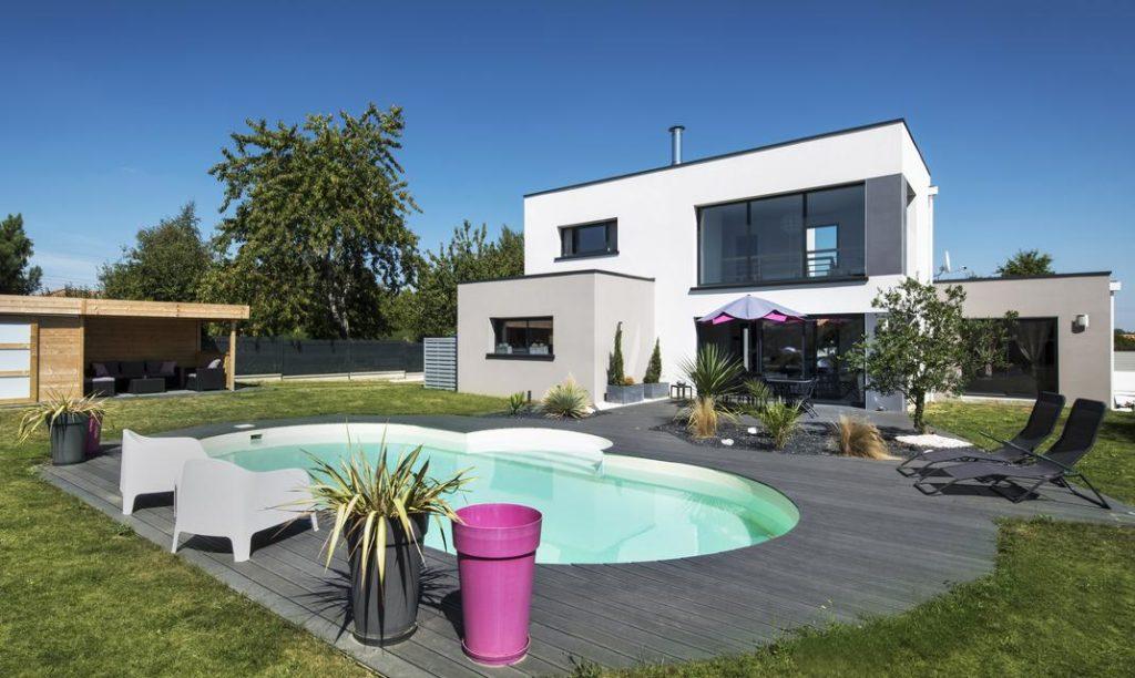 maison-etage-piscine
