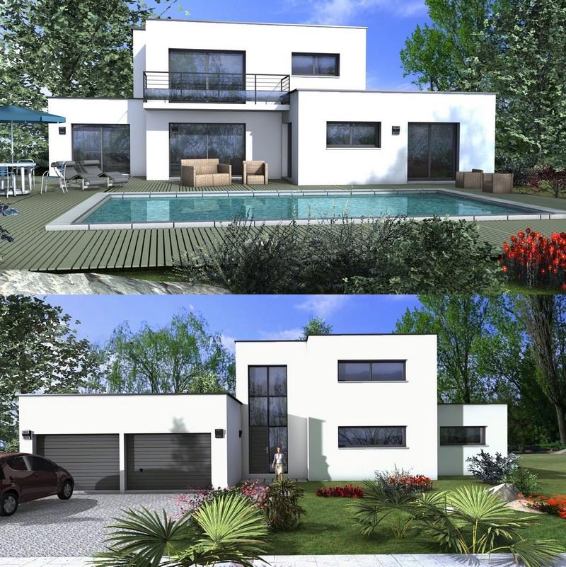 Maison Cube Maison Cubique Une Architecture Moderne Tendance Depreux Construction