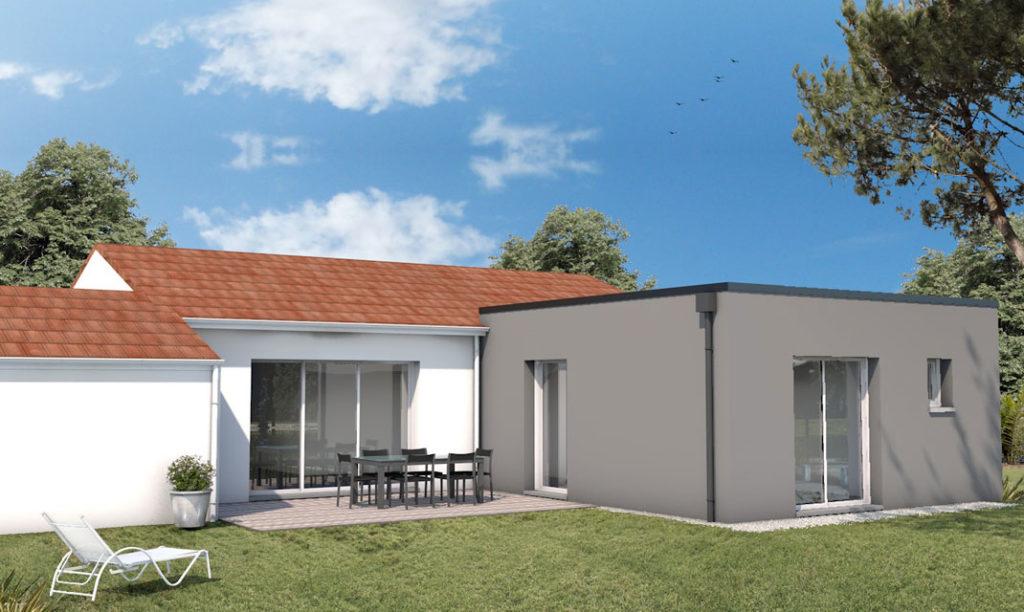 Maisons Plain Pied 4 Chambres De 120 M Construite 12