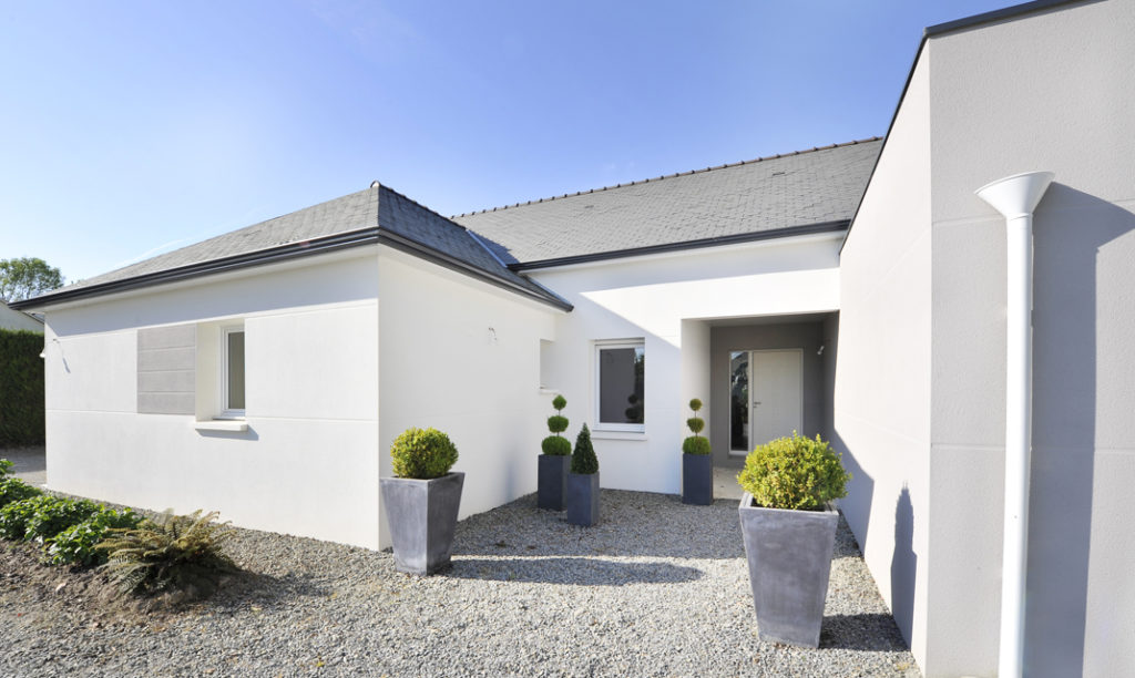 Maison Neuve En Bretagne Entre Tradition Et Modernite Depreux Construction