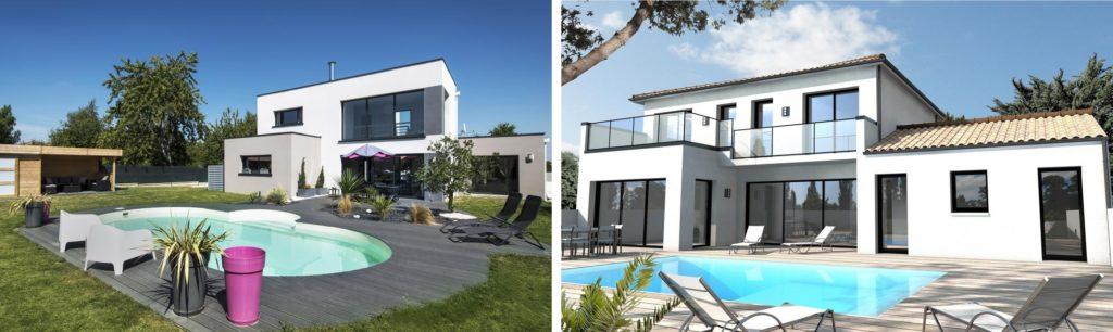 Le toit terrasse : un aménagement de maison moderne et ...