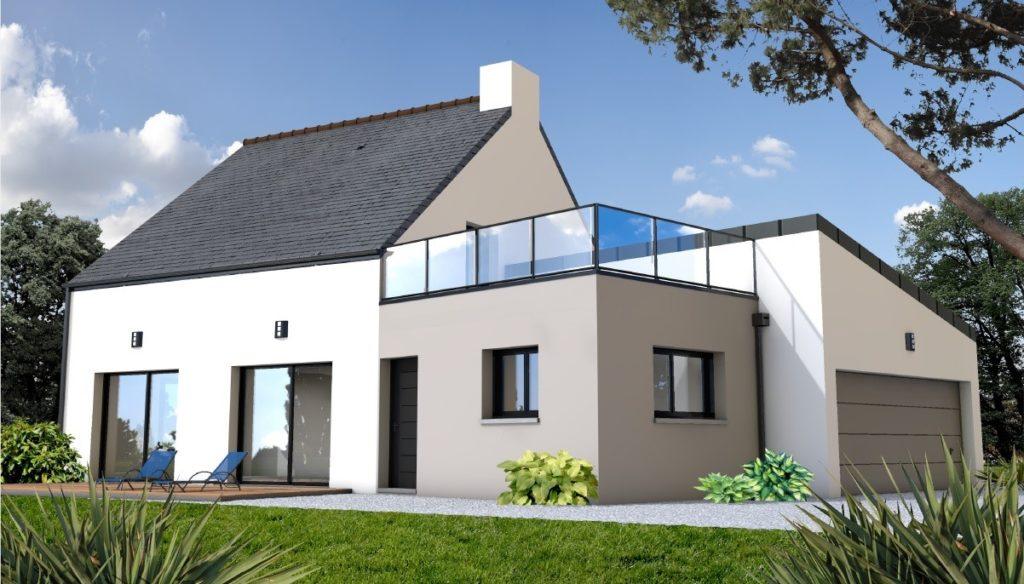 Maison avec toit terrasse : un aménagement moderne et pratique