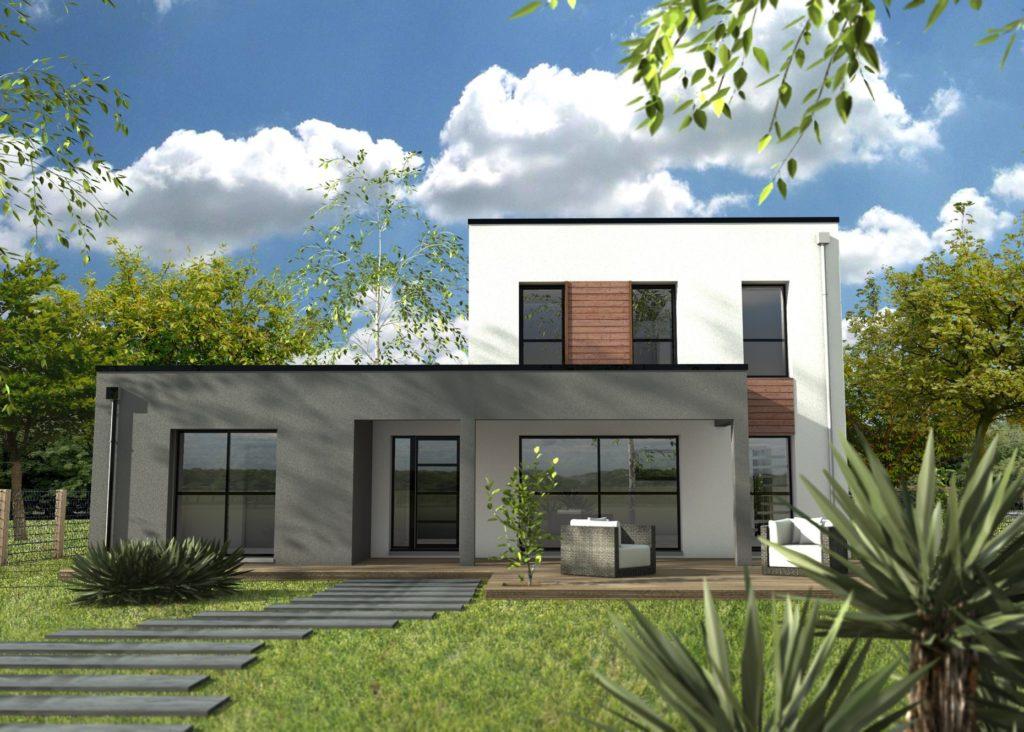 Un Porche D Entree Moderne Design Maison Depreux Construction