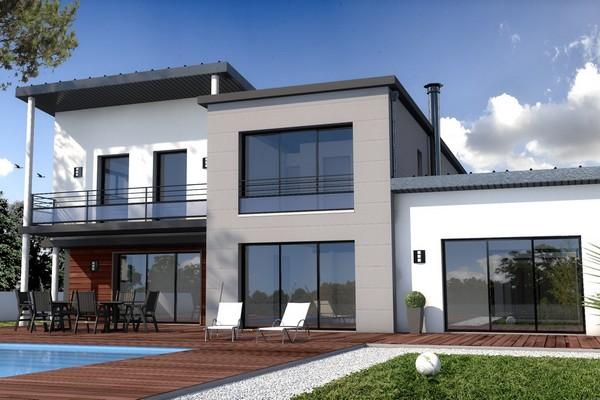 ventilation simple flux hygroréglable maison contemporaine