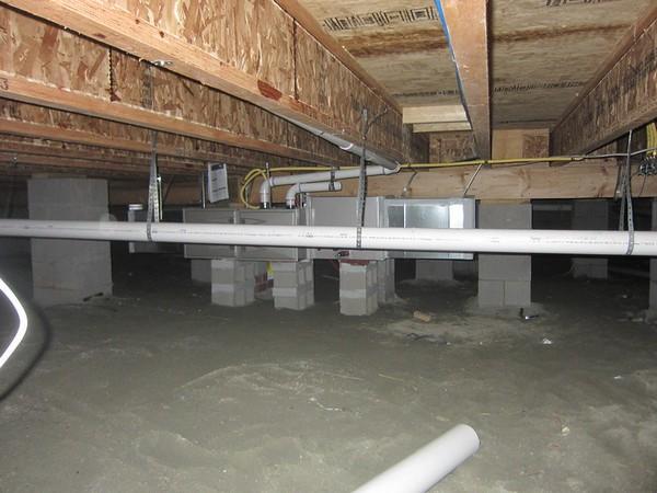 vide sanitaire isolation thermique