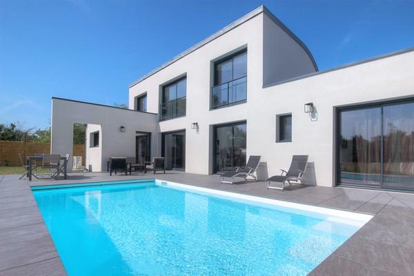 differents types maison piscine