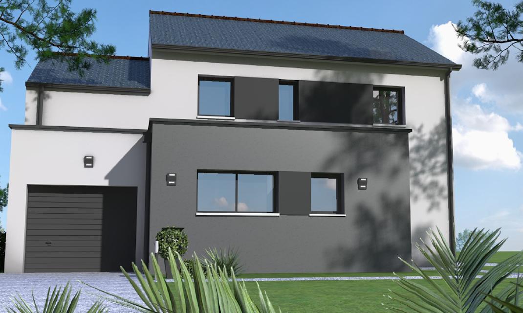 maisons avec terrain sainte luce sur loire depreux construction. Black Bedroom Furniture Sets. Home Design Ideas