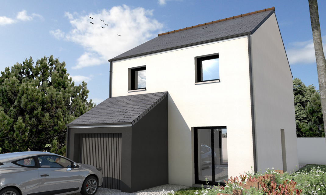 Maisons avec terrain depreux construction for Terrain construction maison